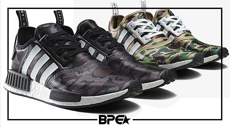 3474d3ecf7 Adidas Originals X BAPE  Data de Lançamento Divulgada - Black Pipe ...