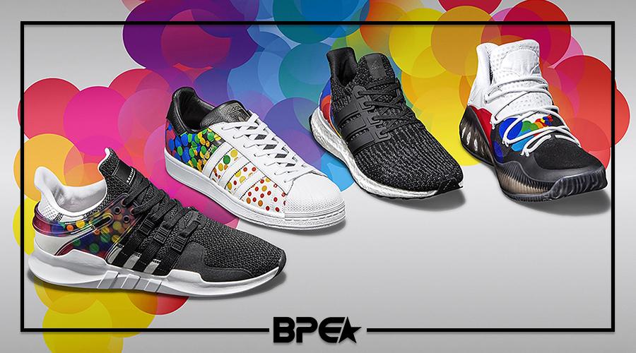 Adidas comemora 'Mês do Orgulho Gay' com novo 'Pride Pack