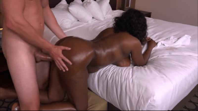 Ebony Pounded White Guy