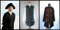 Giacca e panciotto Lord Cuttler Beckett (Pirati dei Caraibi) /// Lord Cuttler Beckett's jacket and waistcoat (Pirates of the Caribbean)