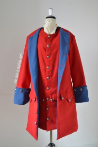 british uniform 18th century