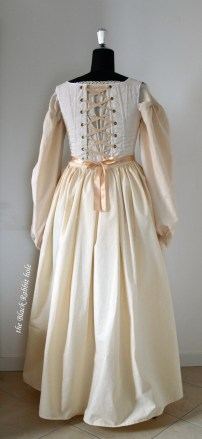 18th century petticoat back