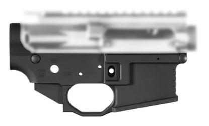 Black Rain Ordnance Billet AR15 Lower Receiver - Black