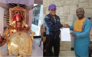 King Brutus of South Africa Becomes NAOSRE Patron