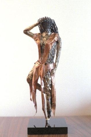 Personal sculpture: Dancer.
