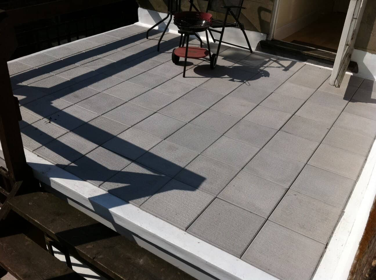 Mastic Asphalt Tiled Balcony