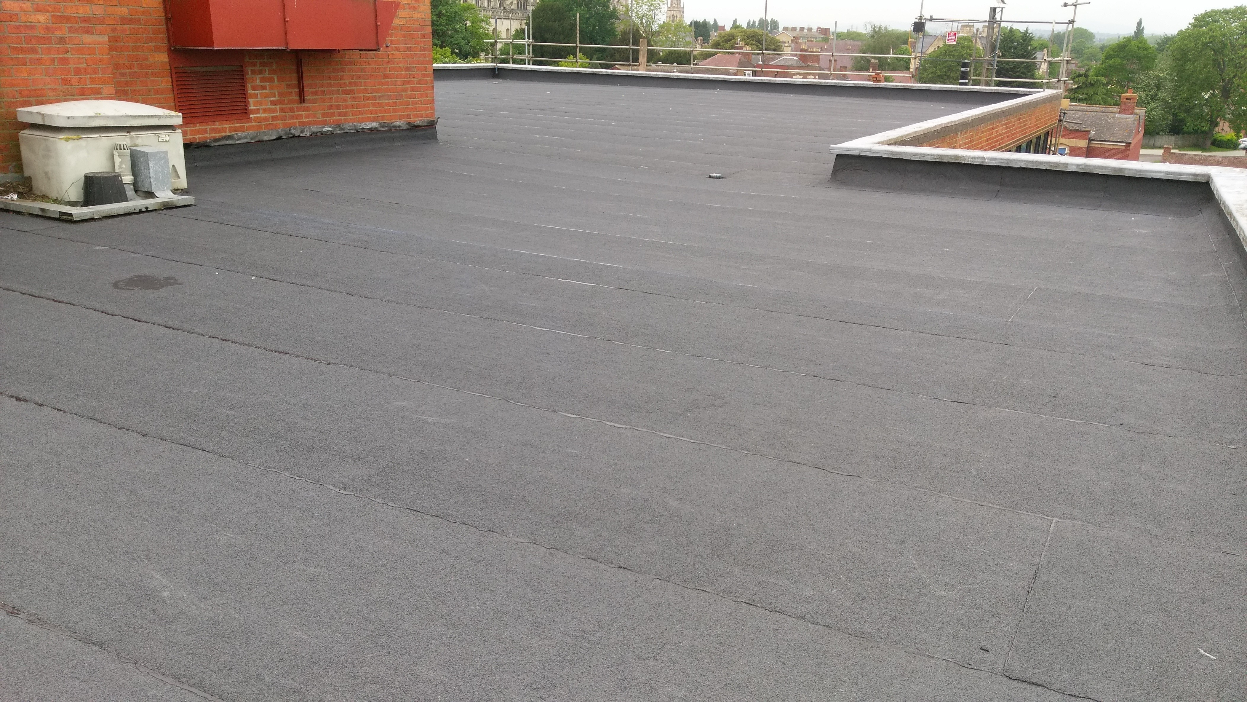 3 Layer Torch On Felt Roof