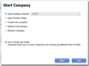 QuickBooks POS: Company Operations Screen Loops and Won't