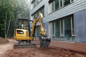 residential excavating project