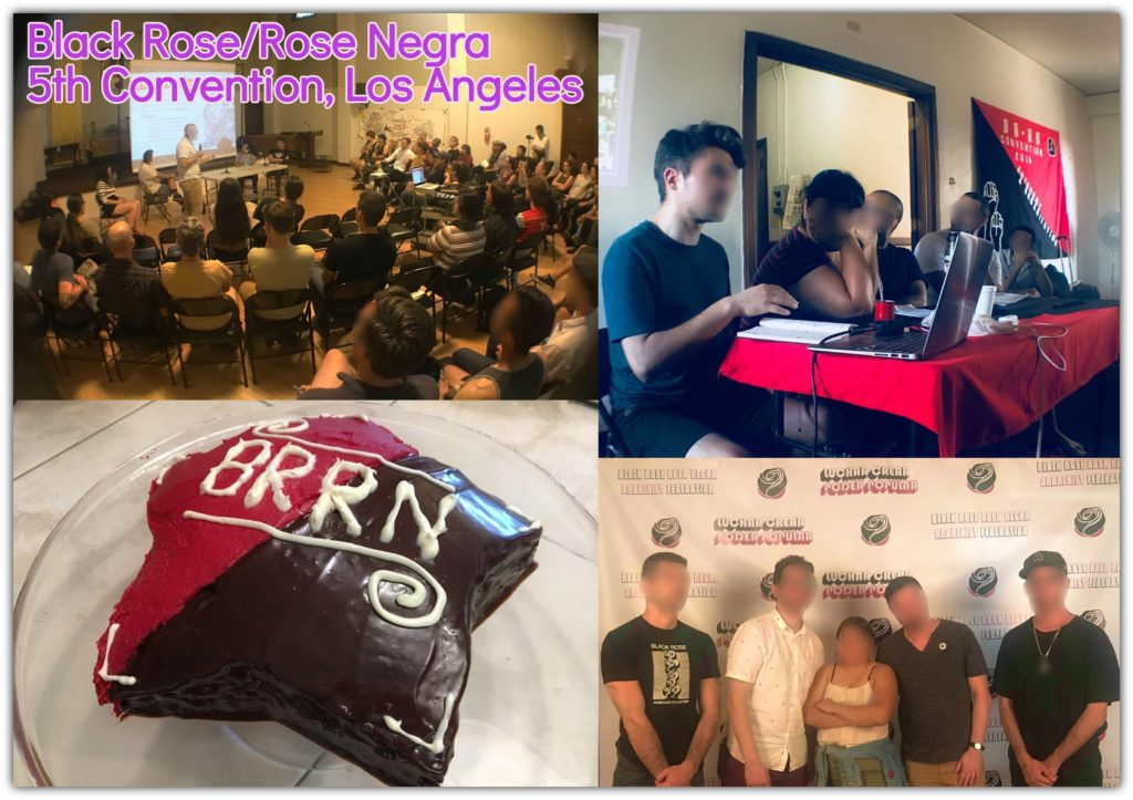 Collage of convention related photos
