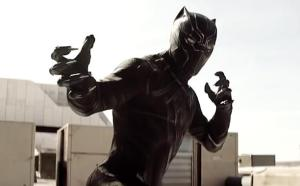Chadwick Boseman as Black Panther