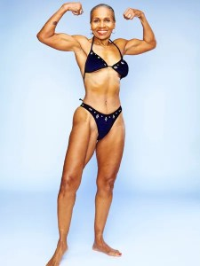 77 year old bodybuilder Ernestine Shepherd