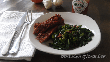 Vegan soul food collard greens with raisins blacks going vegan sauteed collard greens with sun dried tomatoes and garlic forumfinder Image collections