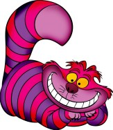 you grinning like a cheshire cat