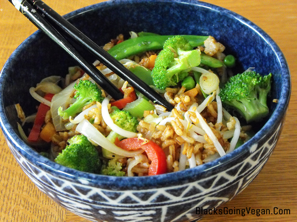 Best vegan fried rice recipe