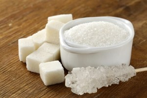 white  sugar foods