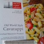 Vegan leek and mushroom pasta sauce recipe by Deborrah Cooper of blacksgoingvegan.com