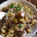 leek and mushroom pasta recipe
