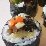 vegan kimbap recipe