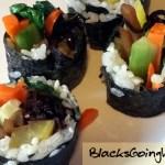 vegan kimbap recipe by Deborrah Cooper
