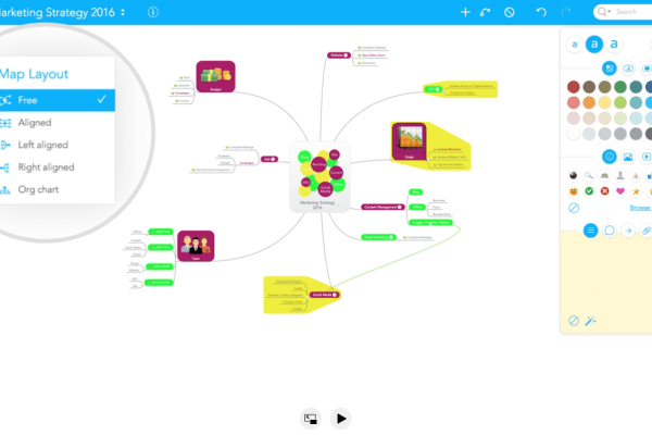 mindmeister, mind map