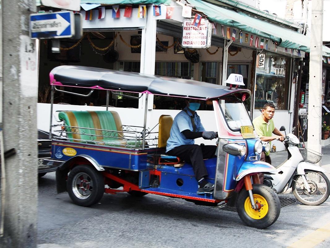 Bangkok, tuk tuk