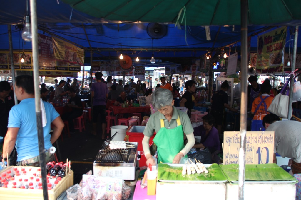 Chatuchak Market, folla