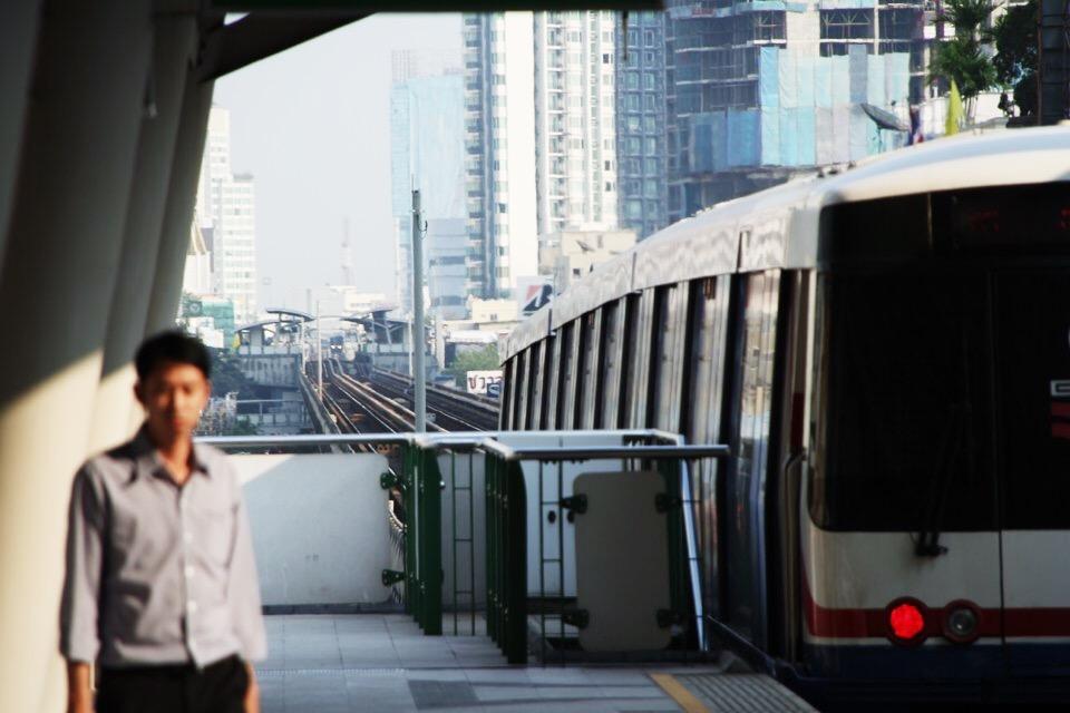 Bangkok metro station