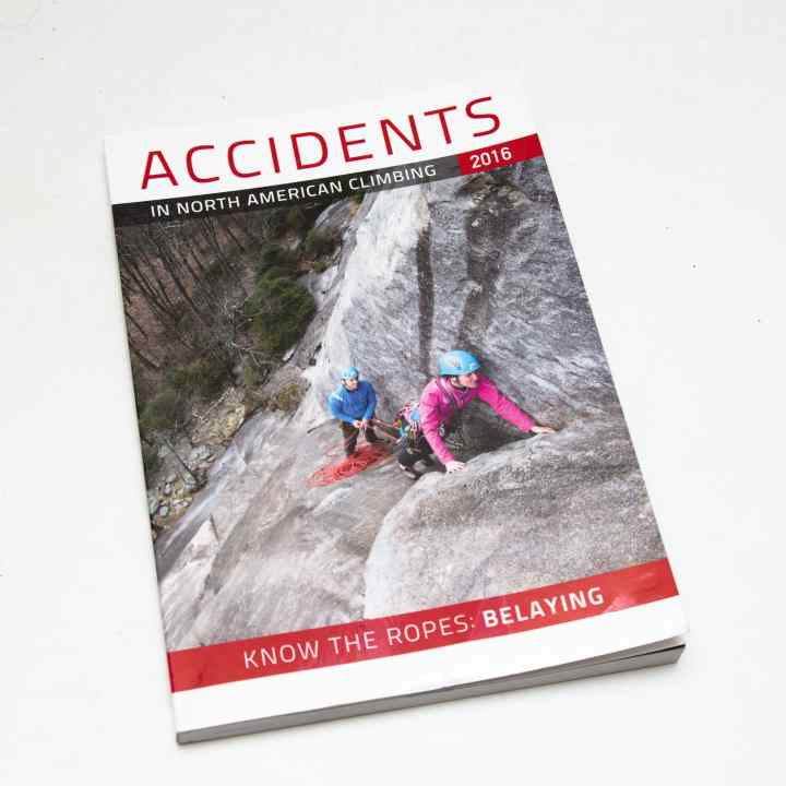 Accidents in North American Mountaineering, 2016