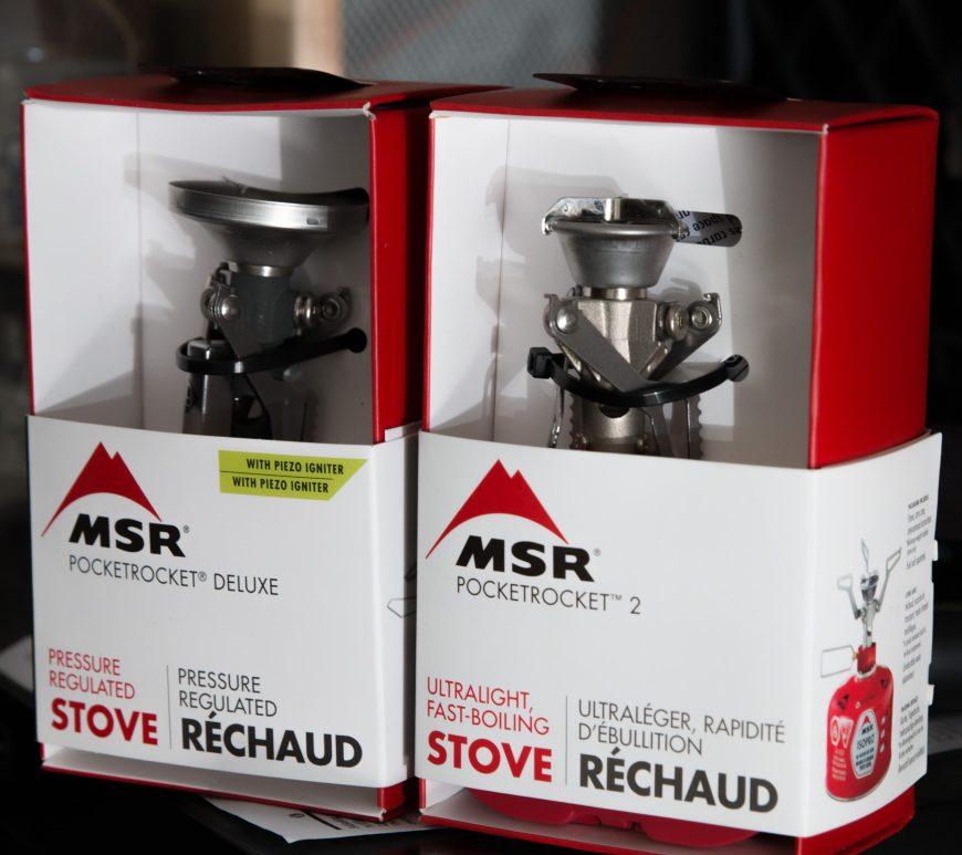 Comparison Review of MSR Pocket Rockets
