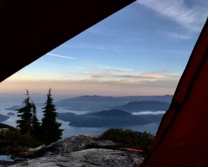 Guiding services, alpine camping
