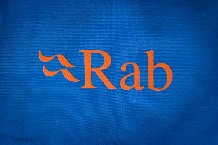 Rab Khroma GTX chest logo jacekt review