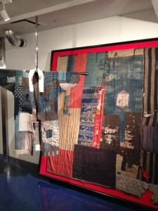 Boro Jacket and Blanket, Amuse Museum, Tokyo 2014