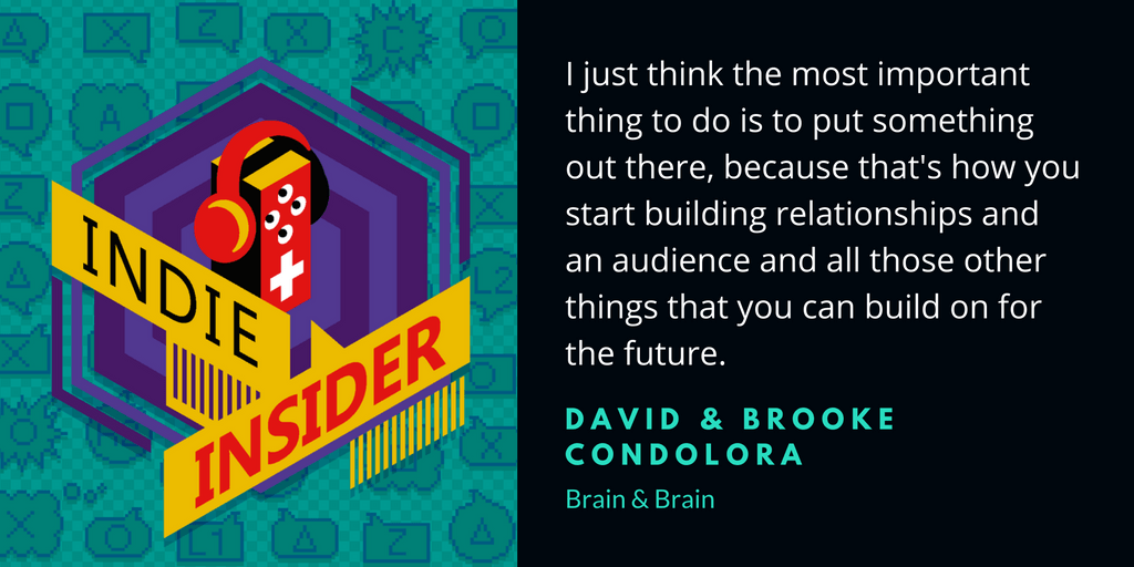 Indie Insider Podcast #5 – Brain & Brain