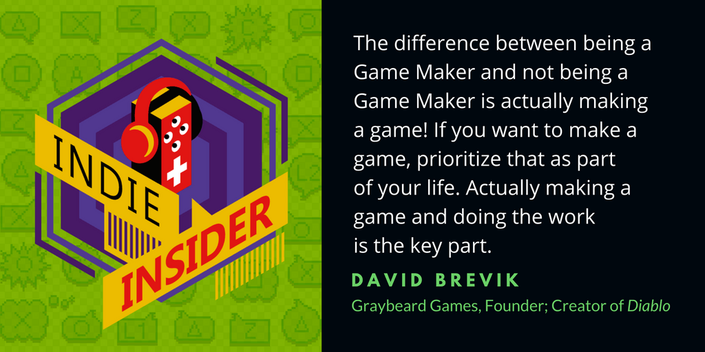 Indie Insider Podcast #9 – David Brevik and Graybeard Games
