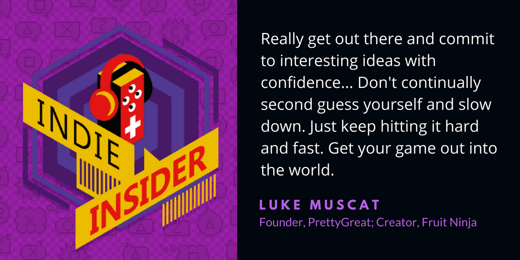 Indie Insider Podcast #16 – Luke Muscat, Creator of Fruit Ninja