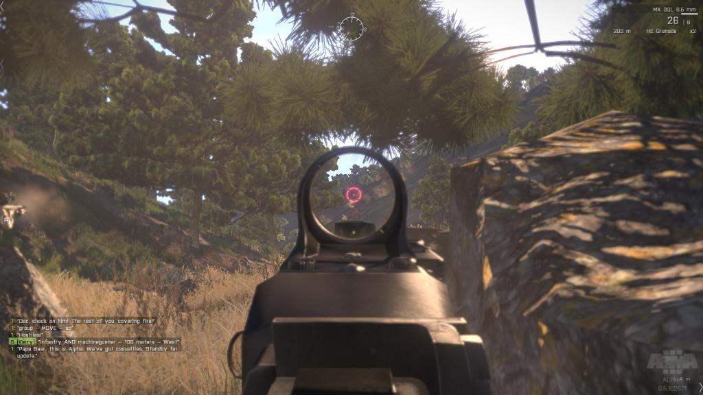 aim down sight fps game