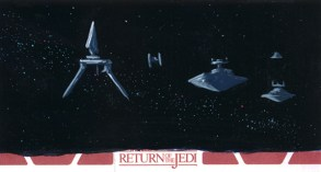 From the Return of the Jedi sketch card series.