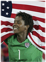 Brianna Scurry - US World Cup Winner, 2-time Olympic Gold Medalist, 1st African American Woman inducted into US Soccer Hall of Fame