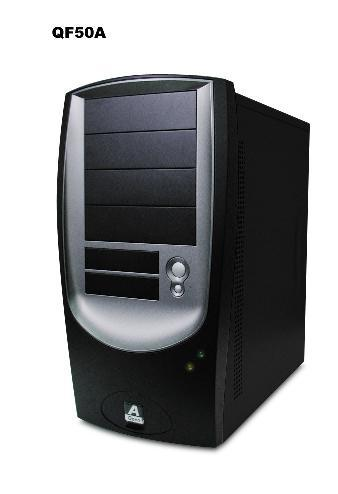 mid sized desktop tower computer