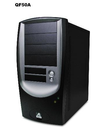 mid sized desktop tower computer