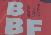 Boston Book festival poster