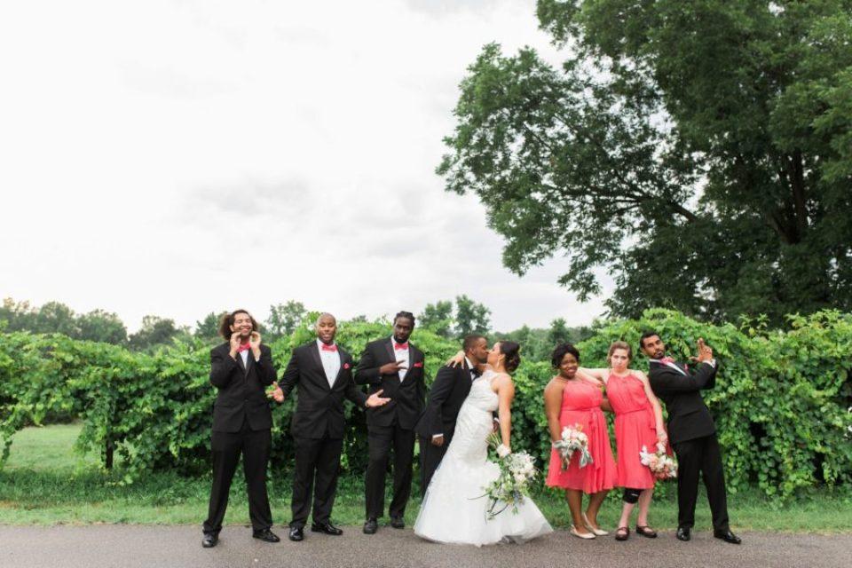 Lyly-and-Devone-Wed_0114-960x640 North Carolina Wedding at the Garner House