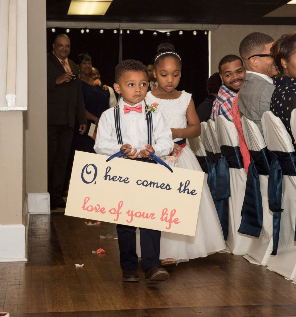 2.-Flower-Girl-and-Ring-Bearer-960x1028 Southern Love with North Carolina Flair