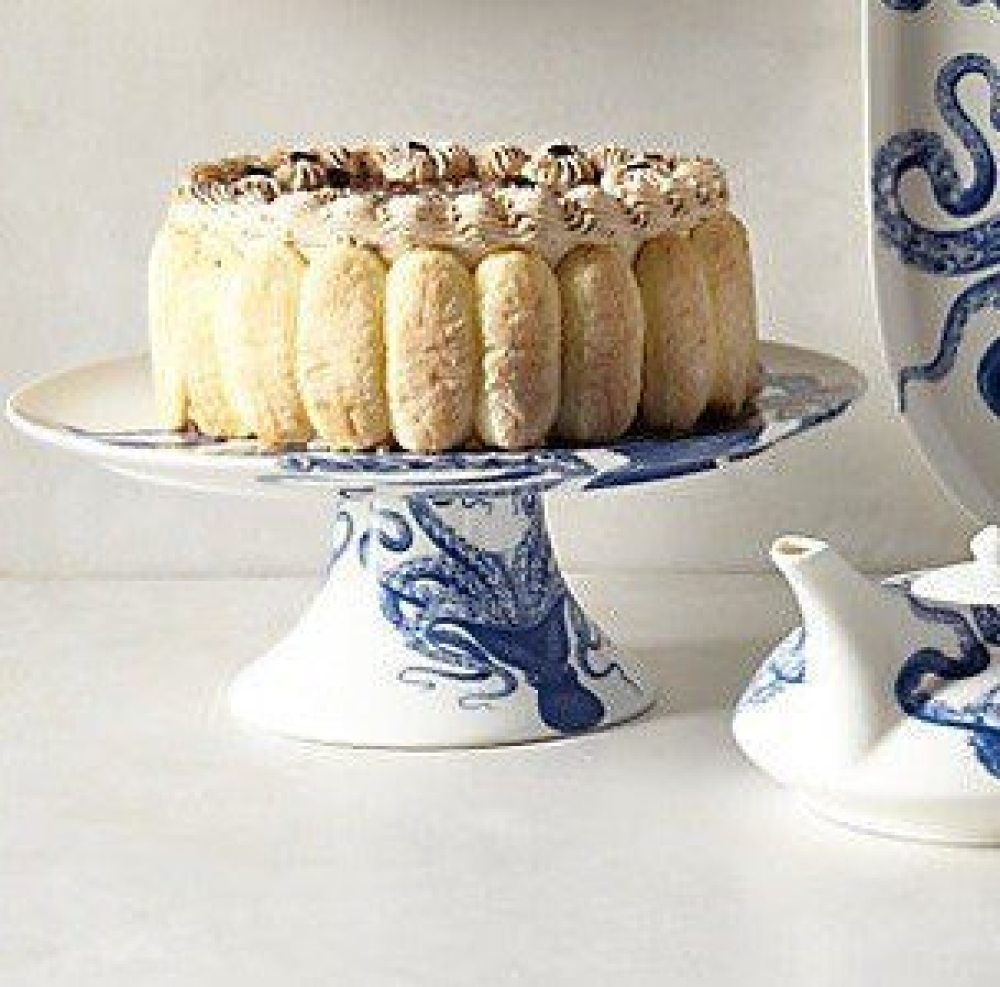 caskata_blue_lucy_octopus_porcelain_cake_pedestal Southern Inspired Gifts for the Holiday Season