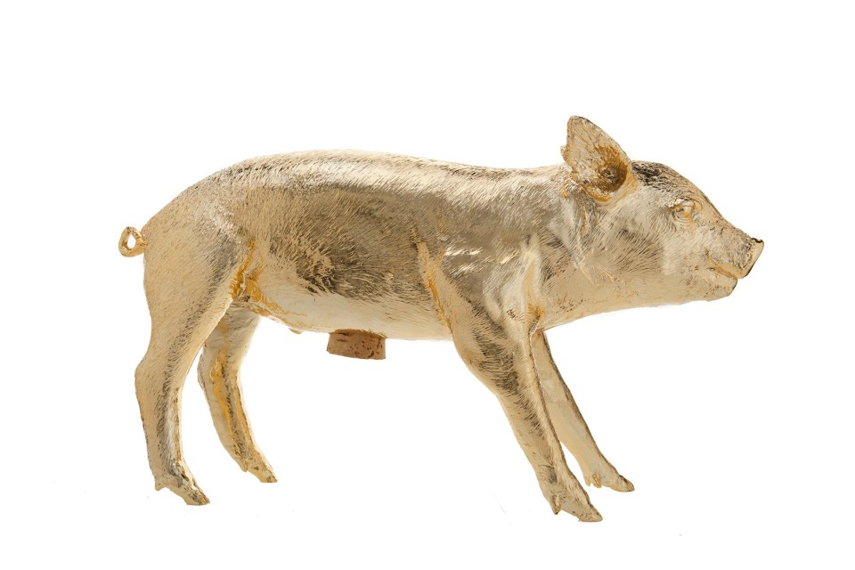 Gold-Chrome-piggy-bank-960x640 Holiday Gifts with Southern Tradition and Modern Sensibility