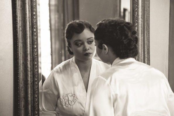 Tish-Jahmaal-342-595x397 Tishre and Jahmaal's 1920's Art Deco themed Wedding