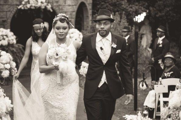 Tish-Jahmaal-722-Edit-2-595x397 Tishre and Jahmaal's 1920's Art Deco themed Wedding