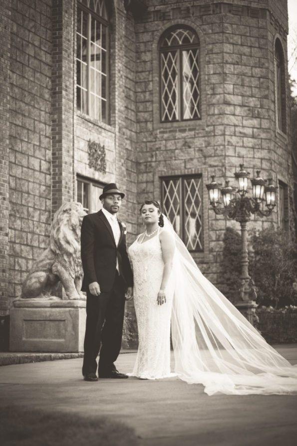 Tish-Jahmaal-858-595x893 Tishre and Jahmaal's 1920's Art Deco themed Wedding