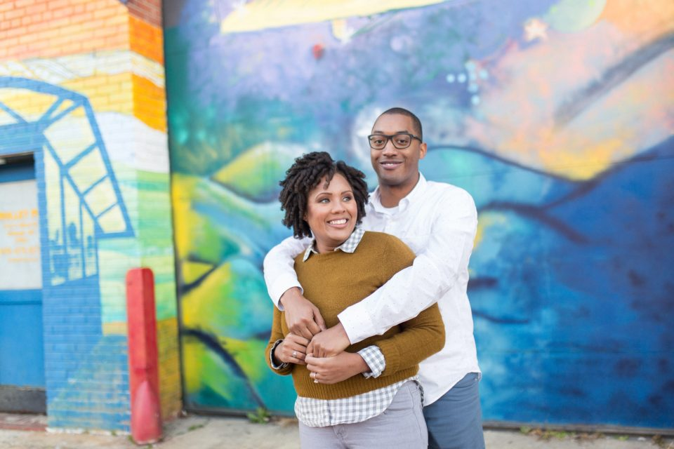McAllister-and-Cornell-127-960x640 Downtown Raleigh Engagement Session with Vintage Style